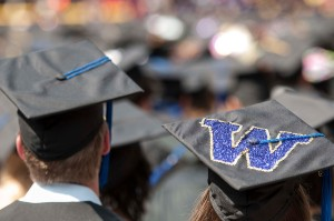 Nearly 5,000 graduates took the field to the cheers and applause of 40,000 family members and friends on Saturday at the University of Washington's 138th Commencement Exercises at CenturyLink Field on Satruday, June 15th 2013.